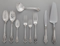 Silver Flatware, American:Wallace , An Eighty-Three Piece Wallace Grand Baroque Pattern PartialSilver Flatware Service for Sixteen and Serving Pieces... (Total:83 Items)