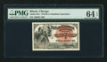 "Miscellaneous:Other, World's Columbian Exposition Indian ""A"" Ticket 1893 PMG ChoiceUncirculated 64 EPQ.. ..."
