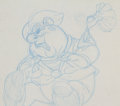Animation Art:Production Drawing, A Troll In Central Park Stanley Production Drawing (DonBluth Productions, 1994)....