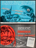 """Movie Posters:Science Fiction, The Angry Red Planet & Others Lot (American International,1960). Uncut Pressbooks (5) (Multiple Pages, 11"""" X 17"""", 12"""" X17""""... (Total: 5 Items)"""