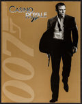"Movie Posters:James Bond, Casino Royale (Sony Pictures Entertainment International, 2006).Japanese Program (10"" X 13"", 32 Pages), International Title...(Total: 13 Items)"