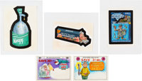 XNO - Wacky Packages Illustration Original Art Group of 5 (Topps, undated).... (Total: 5 Original Art)