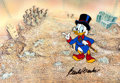 Animation Art:Production Cel, Duck Tales Scrooge McDuck Production Cel (Disney, 1987-88).. ...