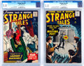 Silver Age (1956-1969):Science Fiction, Strange Tales #61 and 63 CGC-Graded Group (Atlas, 1958).... (Total:2 Comic Books)