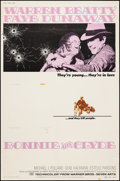 "Movie Posters:Crime, Bonnie and Clyde (Warner Brothers-Seven Arts, 1967). Poster (30"" X40""). Crime.. ..."