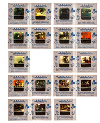 Snow White and the Seven Dwarfs & Others Lot (Craftsmen's Guild of Hollywood, R-1940s). Color Slides (35) (2&quo...