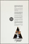 """Movie Posters:Science Fiction, A Clockwork Orange (Warner Brothers, 1971). Poster (40"""" X 60"""")X-Rated Review Style. Science Fiction.. ..."""