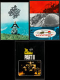 "Movie Posters:Crime, The Godfather Part II & Others Lot (Paramount, 1974). Programs (3) (Multiple Pages, 8.25"" X 11"", 8.5"" X 11"", 8.5"" X 11.5"").... (Total: 3 Items)"