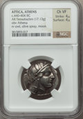 Ancients:Greek, Ancients: ATTICA. Athens. Ca. 454-404 BC. AR tetradrachm (17.13gm)....