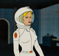 Animation Art:Production Cel, He-Man and the Masters of the Universe Andrea SteeleProduction Cel (Filmation, 1984). ...