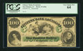 Obsoletes By State:Louisiana, New Orleans, LA - Citizens' Bank of Louisiana $100 18__ Remainder G48a. ...