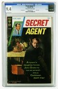 Silver Age (1956-1969):Adventure, Secret Agent #2 File Copy (Gold Key, 1968) CGC NM 9.4 Off-white to white pages. Sal Trapani art. Photo cover. Overstreet 200...