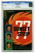 Silver Age (1956-1969):Miscellaneous, 77 Sunset Strip #2 File Copy (Gold Key, 1963) CGC NM 9.4 Off-white pages. Russ Manning. Overstreet 2005 NM- 9.2 value = $135...