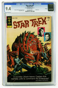Bronze Age (1970-1979):Science Fiction, Star Trek #14 File Copy (Gold Key, 1972) CGC NM 9.4 Off-white pages. Painted cover by George Wilson. Alberto Giolitti and Gi...