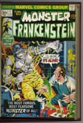 Bronze Age (1970-1979):Horror, Frankenstein #1-16 Bound Volume (Marvel, 1972-75). All but the lasttwo issues of this title have been collected in this pro...