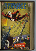 Silver Age (1956-1969):Science Fiction, Strange Adventures and other Deadman-related Titles Bound Volume(DC, 1967-70). DC's most bizarre hero is spotlighted in the...