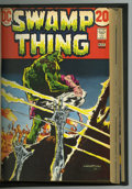 Bronze Age (1970-1979):Horror, Swamp Thing #1-16 Bound Volume (DC, 1972-75). Privately boundvolume featuring trimmed copies of House of Secrets #92 an...