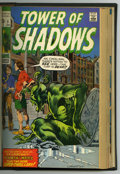 Bronze Age (1970-1979):Horror, Tower of Shadows/Creatures on the Loose #1-16 Bound Volume (Marvel,1969-72). This title changed from Tower of Shadows t...