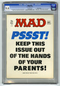 "Magazines:Mad, Mad #195 (EC, 1977) CGC NM 9.4 Off-white pages. ""Airport 1977,""""Black Sunday,"" and ""Barney Miller"" parodies. Mort Drucker, ..."