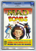 "Modern Age (1980-Present):Humor, Mad Special #59 Gaines File pedigree (EC, 1987) CGC NM+ 9.6 Whitepages. Entitled ""Mad Bombs."" Features a 10-page portfolio ..."