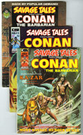 Magazines:Miscellaneous, Savage Tales and Others Group (Marvel/Noble, 1973-81) AverageCondition: VF-. Includes Savage Tales #2, 3, and 5; Sava... (Total:10)