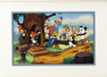 "Original Comic Art:Miscellaneous, Woody Woodpecker ""Woody Greets His Friends"" Limited Edition HandPainted Cel #226/500 Original Art (Walter Lantz Productions, ..."