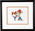 "Original Comic Art:Miscellaneous, ""Lovebirds"" Limited Edition Serigraph Cel Original Art (WalterLantz Productions, 1997). This limited edition serigraphed ce..."