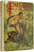 Books:First Editions, Edgar Rice Burroughs: 1928 First State of Tarzan, Lord of theJungle. (Chicago: A. C. McClurg & Co., 1928), firsteditio... (Total: 1 Item)