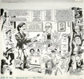 "Original Comic Art:Complete Story, Angelo Torres - Mad #282 Complete 5-page Story ""Mad Visits the CIA""and Complete 5-page Story ""Double Damp"" Original Art (EC, ...(Total: 10 Items)"