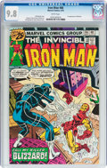 Bronze Age (1970-1979):Superhero, Iron Man #86 (Marvel, 1976) CGC NM/MT 9.8 White pages....