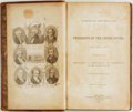 Books:Americana & American History, [U.S. Presidents]. The Addresses and Messages of the Presidentsof the United States, from 1789 to 1839. Together with t...