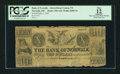 Obsoletes By State:Ohio, Norwalk, OH - Bank of Norwalk Altered from Vernon, TX $10 Jul. 1,1841 A10 Wolka 2005-34. ...