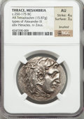 Ancients:Greek, Ancients: THRACE. Mesambria. Ca. 175-125 BC. AR tetradrachm (15.87gm)....