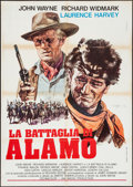 "Movie Posters:Western, The Alamo (United Artists, R-1971). Italian 2 - Foglio (39.5"" X55""). Western.. ..."