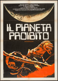 "Movie Posters:Science Fiction, Forbidden Planet (R-1970s). Italian 2 - Foglio (39.5"" X 55"").Science Fiction.. ..."