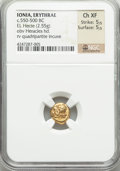 Ancients:Greek, Ancients: IONIA. Erythrae. Ca. 500-480 BC. EL hecte or sixth stater(2.55 gm)....