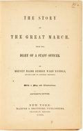 Books:Americana & American History, [Civil War]. George Ward Nichols. The Story of the GreatMarch. New York: Harper & Brothers, 1865....