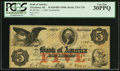 Obsoletes By State:Rhode Island, Providence, RI - Bank of America $5 Nov. 1, 1861 Counterfeit C12b. ...