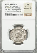Ancients:Roman Provincial , Ancients: SYRIA. Antioch. Philip I (AD 247-249). AR tetradrachm(10.84 gm)....