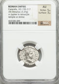 Ancients:Roman Imperial, Ancients: Caracalla (AD 198-217). AR denarius (3.29 gm)....