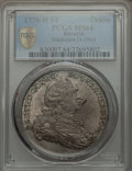 German States:Bavaria, German States: Bavaria. Carl Theodor Taler 1778-HST MS64 PCGS,...