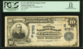 National Bank Notes:Virginia, Lynchburg, VA - $10 1902 Plain Back Fr. 624 The Peoples NB Ch. #(S)2760. ...
