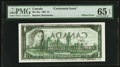 Canadian Currency: , Face to Back Offset Error BC-45a $1 1967 . ...