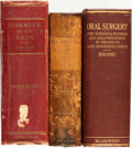 Books:Medicine, [Medicine]. Group of Three Books. Various publishers, [1880 -1921].... (Total: 3 Items)