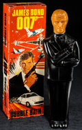 "Movie Posters:James Bond, James Bond 007 Bubble Bath (Noveltime Products, 1979). NoveltyBubble Bath in Original Packaging (3.5' X 10.25"" X 2""). James..."
