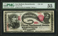 National Bank Notes:Massachusetts, New Bedford, MA - $2 1875 Fr. 393 The First NB Ch. # 261. ...