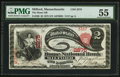 National Bank Notes:Massachusetts, Milford, MA - $2 1875 Fr. 390 The Home NB Ch. # 2275. ...