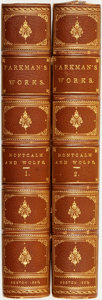Books:Americana & American History, Francis Parkman. Montcalm and Wolfe. [Part Seventh ofFrance and England in North America. A Series of Histo...(Total: 2 Items)
