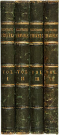 Books:Travels & Voyages, H. W. Bates, editor. Illustrated Travels: A Record of Discovery, Geography, and Adventure. London, Paris & New York:... (Total: 4 Items)