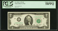 Small Size:Federal Reserve Notes, Low Serial Number 00000005 Fr. 1935-L $2 1976 Federal Reserve Note. PCGS Choice About New 58PPQ.. ...
